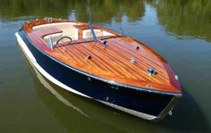Wooden Boat Plans Ace Runabout-Boat Building Plans And Kits Wooden Boat Kits, Wood Boat Plans, Wooden Boat Building, Boat Building Plans, Sailboat Plans, Wooden Speed Boats, Wood Boats, Model Boat Plans, Classic Wooden Boats