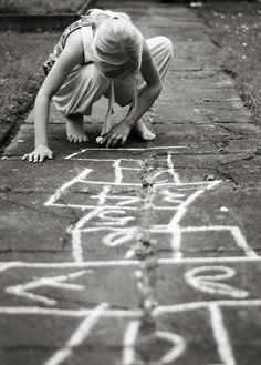 one simple thing: chalk