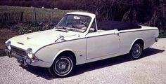 1967 Ford Corsair Crayford Conv. A show car that rarely got driven. Loved the column shifter.