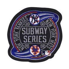2000 Subway Series MLB World New York Mets Yankees Sleeve Jersey Patch Logo   eBay