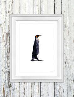 'PINGUIN 1' - 21x29,7 cm von antrekken auf DaWanda.com