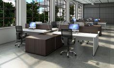 Linha Staff l Gabbinetto. Um conjunto completo de mobiliário corporativo ideal para escritório e ambientes operacionais. #office #officefurniture #mobiliariocorporativo #LinhaStaff #gabbinetto