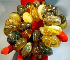 Vintage Massive Old Genuine BALTIC AMBER NECKLACE by ANTIQUE4YOU