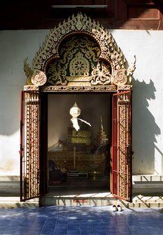 Temple Door, Chiang Mai