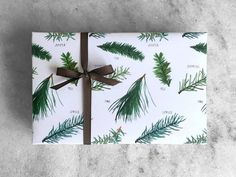 Favorite Story Mistletoe Wrapping Paper