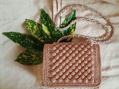 Crochet shoulder bag ♢