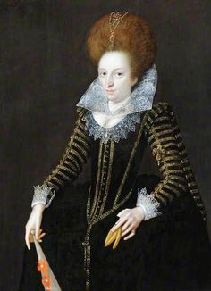 Portrait of a lady by Marcus Gheeraerts the Younger,1609