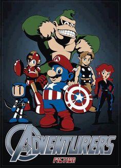 Nintendo Avengers