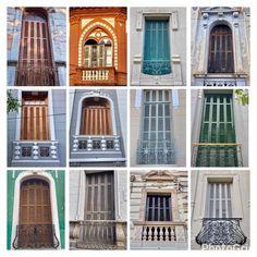 Collage de balcones de Asunción-Paraguay
