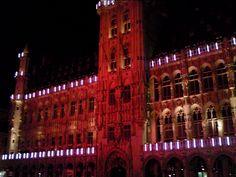 Christmas Light Show Brussels by Karen V Bryan, via Flickr