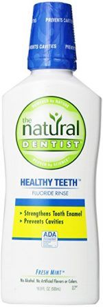The Dentist Healthy Teeth is a fluoride mouth rinse scientifically formulated to prevent cavities and strengthen tooth enamel. Best Mouthwash, Tooth Enamel, How To Prevent Cavities, Dental Supplies, Healthy Teeth, Alcohol Free, Men's Grooming, Active Ingredient