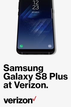 Samsung Galaxy S8+ has the cutting-edge features you need to do the things you love faster, easier and better. Available in Orchid Gray, Arctic Silver or Midnight Black (subject to availability). Get it today at Verizon.