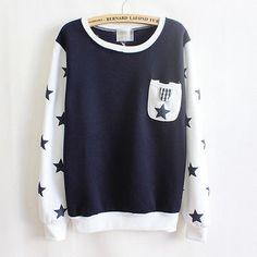 Women Casual Flocking Letters Fleece Long Sleeve Inside Pullovers Sweaters Tops