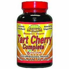 Each serving provides 500 mg of tart cherry extract plus anti-inflammatory herbs like ginger, turmeric and holy basil.