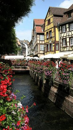 Strasbourg, France - Love the Houses in this pic