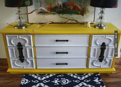 Yes - The Turquoise Iris: ONE DRESSER, STYLED 3 WAYS | CHECK OUT MORE DRESSER IDEAS AT DECOPINS.COM | #dressers #dresser #dressers #diydresser #hutch #storage #homedecor #homedecoration #decor #livingroom