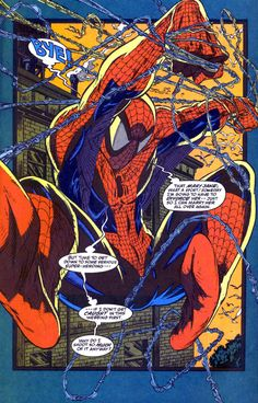 The Amazing SpiderMan by my all time favorite SPIDEY Artist, Todd McFarlane Comics Spiderman, Spiderman Kunst, All Spiderman, Marvel Comics Art, Avengers Comics, Amazing Spiderman, Spiderman Tattoo, Comic Book Artists, Comic Book Characters