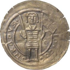 Brakteat Conrad II, Lausitz, Markgraf (1159-1210)|Münzherr Lausitz, o.J. (1190-1210) Münzkabinett Material and Technique Silber, geprägt Measurement Durchmesser: 25,5 mm, Gewicht: 0,535 g