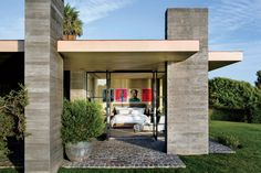 Modern Exterior by Denise Kuriger and Scott Mitchell in Malibu, California