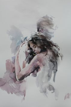 Art Couple, Couple Painting, Art Romantique, Romantic Drawing, Romantic Artwork, Romance Art, Erotic Art, Aesthetic Art, Love Art