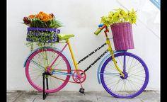 Intégrer un vélo dans sa déco extérieure