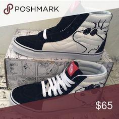 9dbc1c87df vans sk8-hi reissue(peanuts)joe cool black 2017 Vans Shoes Sneakers