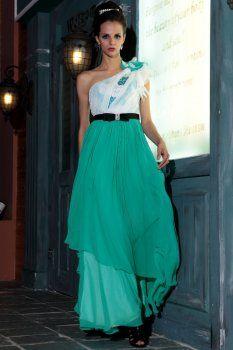 propre conception vertes fraîches au printemps de nouvelles robes de soirée