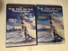 The Day After Tomorrow (DVD, 2004, Collectible Lenticular Packaging) Full Screen