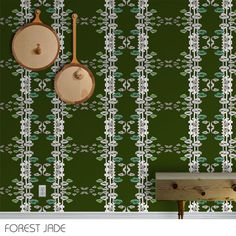 Double R Studio: Enchanted Woods - Color Way: Forest Jade