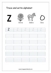 Alphabet Tracing Worksheet - Alphabet Tracing Sheets - Small Letter z Free Printable Alphabet Worksheets, Alphabet Writing Worksheets, Alphabet Writing Practice, Letter Worksheets For Preschool, Alphabet Tracing, Tracing Sheets, Hindi Worksheets, Learning Letters, Alphabet Letters