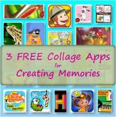 3 free collage apps - so easy, even kids can use them! #free #apps #craft