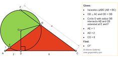 Plane Geometry, Mathematics Geometry, Geometry Shape, Geometry Problems, Math Problems, Geometri, Isosceles Triangle, Theta, Frases