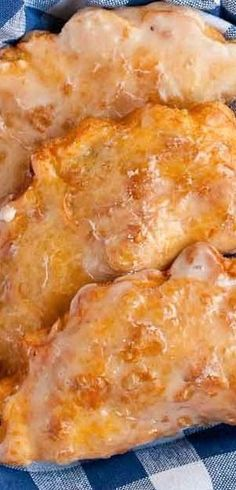 These individual apple pies are deep fried and glazed for a traditional Amish Fry Pie.