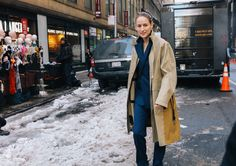 Leelee Sobieski | Phil Oh's Best Street Style Pics From New York's Fall 2017 Shows