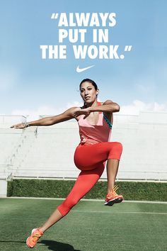"""When I'm on the field and I'm smiling, I'm at my best. I always put in the work, so when I'm there, the work is done and I can just enjoy the moment."" - United States National Team Soccer Forward Christen Press"