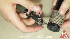 How to Make a 550 Paracord Sling Attachment for AR15 (M4) Rifle (not my video)