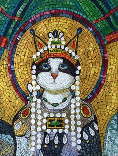 The Empress Theodora-Byzantine (Mosaic of the Basilica San Vitale of Ravenna) by Susan Herbert
