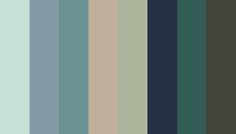 Breakthrough colours: Dusty Aqua (12-5506 TCX); Arona (16-4109 TCX); Mineral Blue (16-4712 TCX); Doeskin (15-1308 TCX); Swamp (15-6310 TCX); Black Iris (19-3931 TCX); Posy Green (18-5616 TCX); Forest Night (19-0414 TCX)