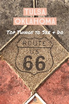 Tulsa is right off of Route 66 in Oklahoma and full of fun and exciting things to do. break ideas oklahoma Top Things to Do in Tulsa this Weekend Tulsa Oklahoma, Travel Oklahoma, Route 66 Oklahoma, Route 66 Road Trip, Road Trip Usa, New York Travel, Travel Usa, Travel Tips, Travel Ideas