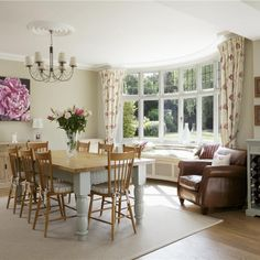 Dining Room in Clunch  Wimborne White