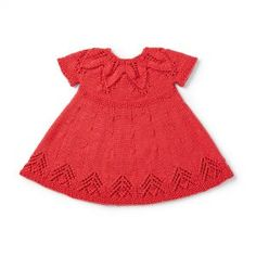 Yarnspirations is the spot to find countless free easy crochet patterns, including the Bernat Fairy Leaves Dress, 6 mos. Knitting For Kids, Baby Knitting Patterns, Baby Patterns, Free Knitting, Crochet Patterns, Crochet Ideas, White Baby Dress, Baby Summer Dresses, Little Red Wagon