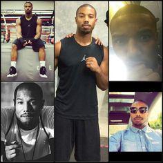 Micheal B Jordan Michael Bakari Jordan, Creed Movie, Eye Candy Men, Famous Dancers, Natural Man, Handsome Black Men, Famous Men, Bae, Fine Men