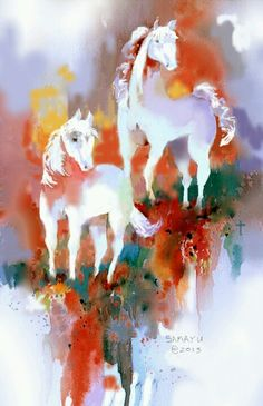 """""""White Horse Ranch Revisited""""  Finished.  I can't think of a single thing that I would want to change in this image."""