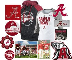 """""""Givin' Bama some love!"""" by roseyrose27 on Polyvore"""