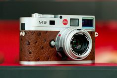 "Leica M9 Limited Edition ""Ostrich"""