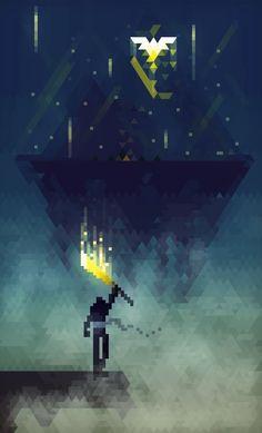 poster - the possibilities of 8 bit art 8 Bits, League Of Legends, 8 Bit Art, Pixel Art Games, Detail Art, Video Game Art, Game Design, Amazing Art, Awesome