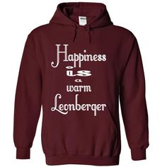 HAPPINESS IS A WARM LEONBERGER T-Shirts, Hoodies. Check Price Now ==►…