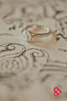 a simple engagement ring. Simple is better i LOVE this so much. But not gold
