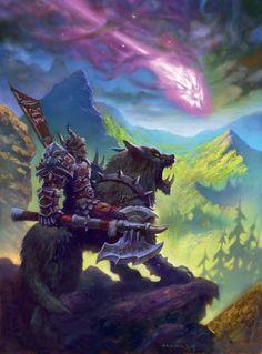 World of Warcraft Warcraft Orc, Warcraft Game, World Of Warcraft, Fantasy Life, Alien Races, World Of Darkness, Wow Art, Science Fiction Art, Fantasy Landscape