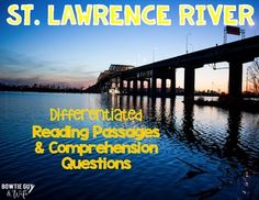 St. Lawrence River {Differentiated Close Reading Passages